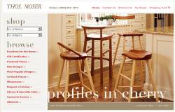 See detailed information about Thos. Moser Cabinetmakers